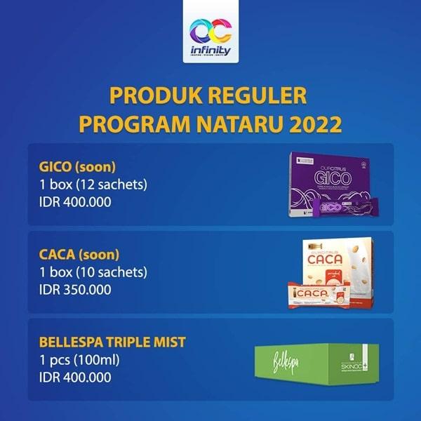 Produk program natal 2021 dan tahun baru 2022