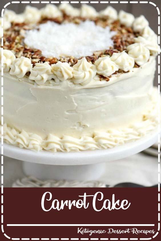 This To Die For Carrot Cake receives rave reviews for it  Carrot Cake