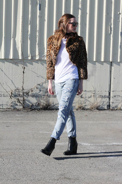 Mom Style- Faux Fur Jackets