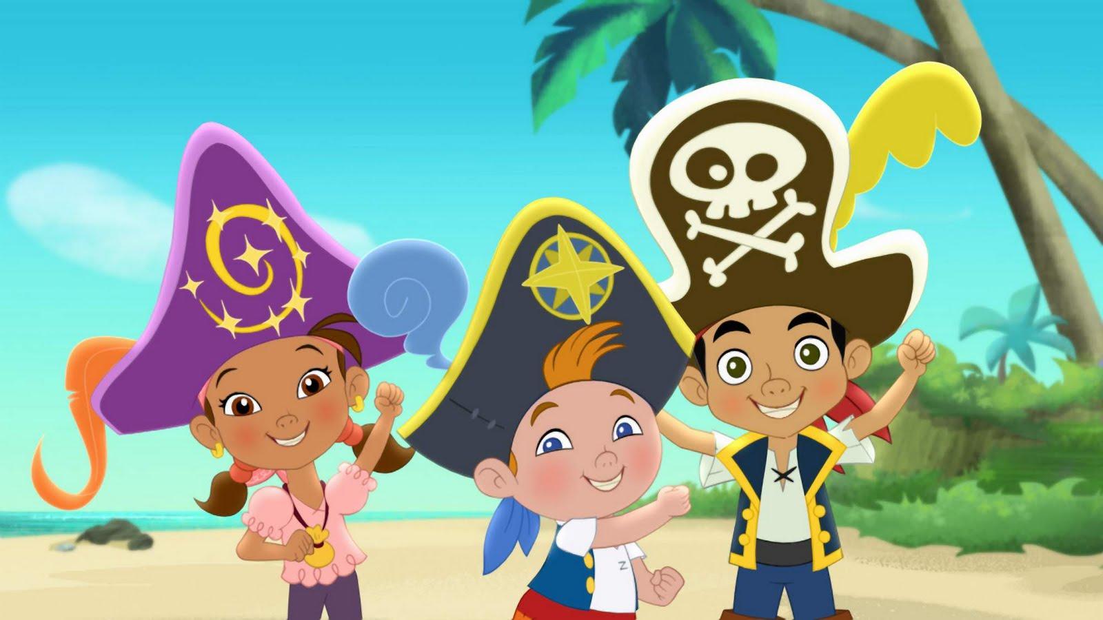 Jake Y Los Piratas Del Pais De Nunca Jamas: Dibujos De