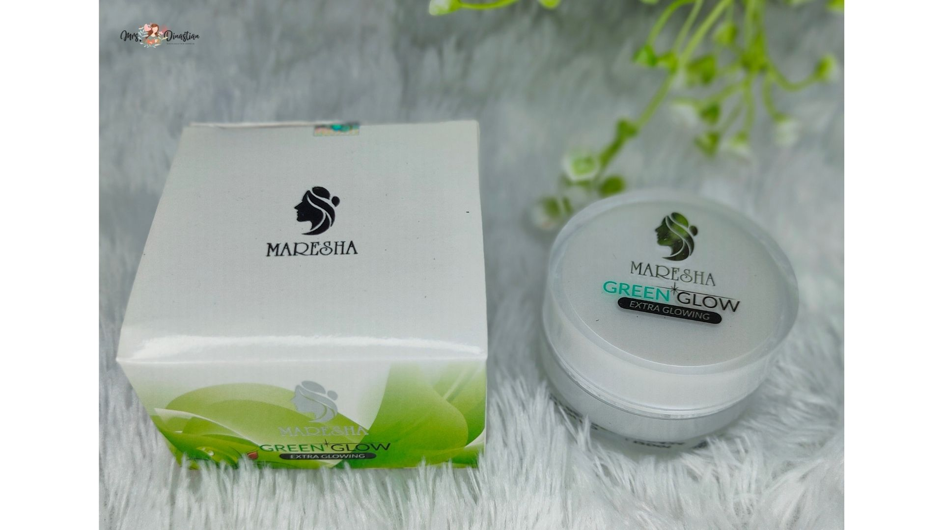 Packaging Green Glow Maresha Skincare