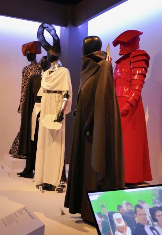Star Wars Last Jedi costumes