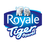 Logo Tiger Towel Royale