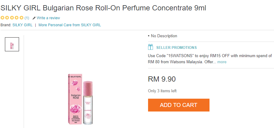 perfume, silky girl