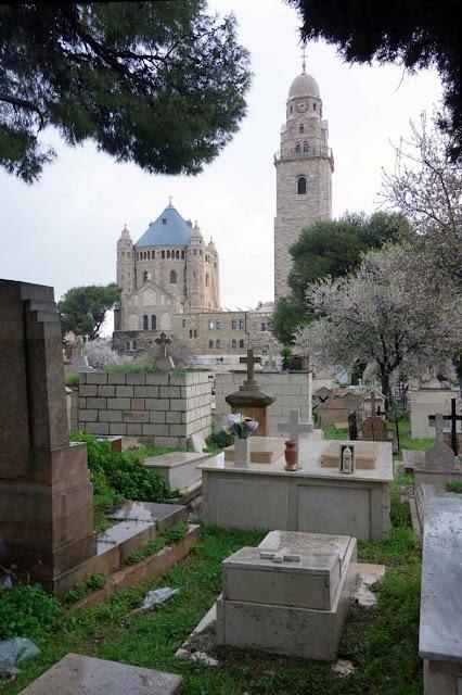 Cimetière catholique grec à Jérusalem