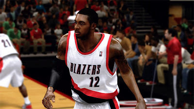 NBA 2K13 LaMarcus Aldridge Realistic Face Update