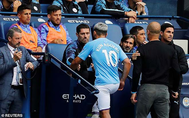 Chấn động Man City: Aguero cãi nhau với Pep Guardiola, phòng thay đồ dễ loạn 5