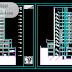 مجموعة مشاريع عمارات سكنية مخططات كاملة اوتوكاد dwg