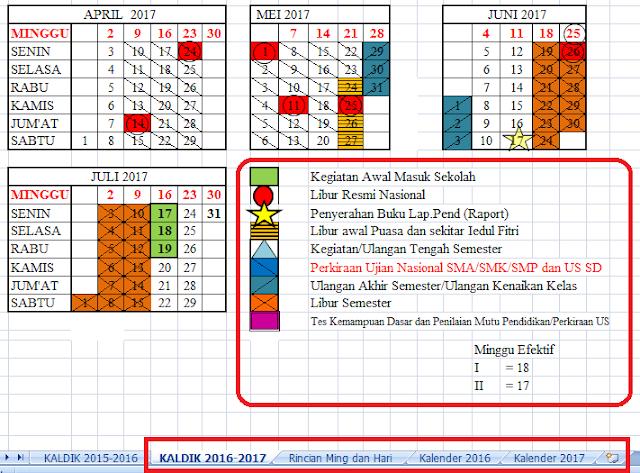 gambar kalender pendidikan 2016/2017