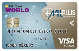 mil kazandıran kredi kartları - milplus - world kart - vakıfbank - yapı kredi  - seyahat - mil
