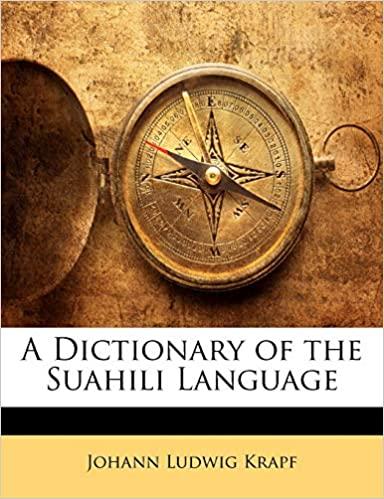 A Dictionary of the Suahili Language (Swahili) PDF Free Download