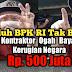 Tuduh BPK RI Tidak Betul, Ko Hai Ogah Bayar Kerugian Negara Rp.500 Juta