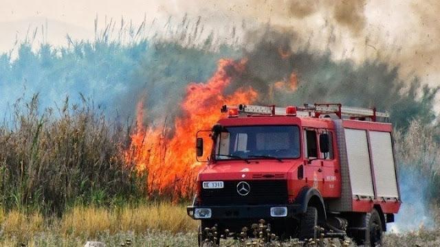 Αργολίδα: Σε κατάσταση συναγερμού για εκδηλωση πυρκαγιάς και την Πέμπτη 10/9