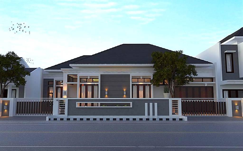 Desain Rumah Mewah 1 Lantai Model Terbaru Bargaya Modern & 29 Desain Rumah Mewah 1 Lantai Model Terbaru Bernuansa Modern ...