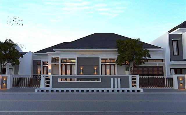 Desain Rumah Mewah Eropa 1 Lantai  desain rumah mewah eropa 1 lantai