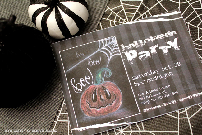 halloween art, pumpkins, halloween invitation, halloween party