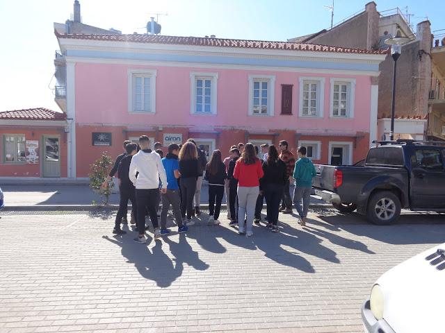 Μαθητές Δημοτικών και Γυμνασίων «Συνομιλούν με την ιστορία στους δρόμους του Άργους»