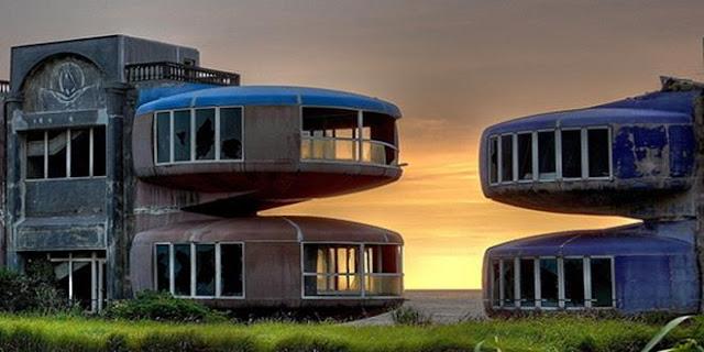 3 SAN ZHI Taiwán  un resort futurista