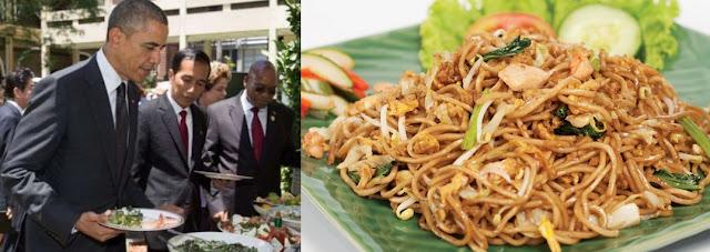 Mie Goreng Jawa, Barack Obama, Jokowi, Resep Mie Goreng Jawa, wisata kuliner,