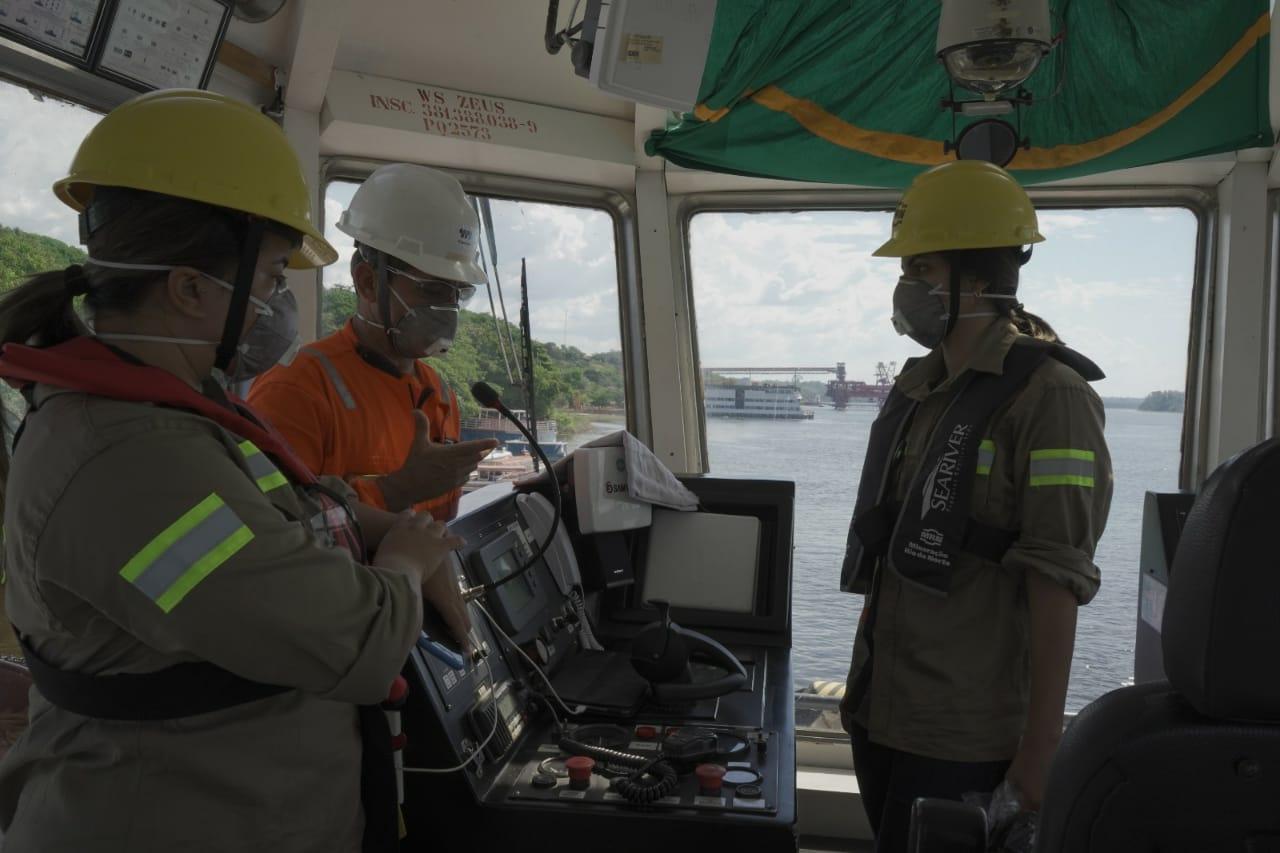 Alunas do Ciaba fazem visita à Mineração Rio do Norte, em Porto Trombetas