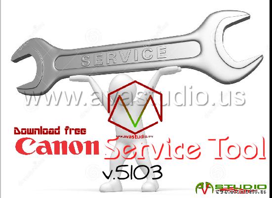 Canon Service Tool V.5103