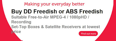 Buy DD Free dish Suitable freetoair mpeg4 Full HD Set-top box online
