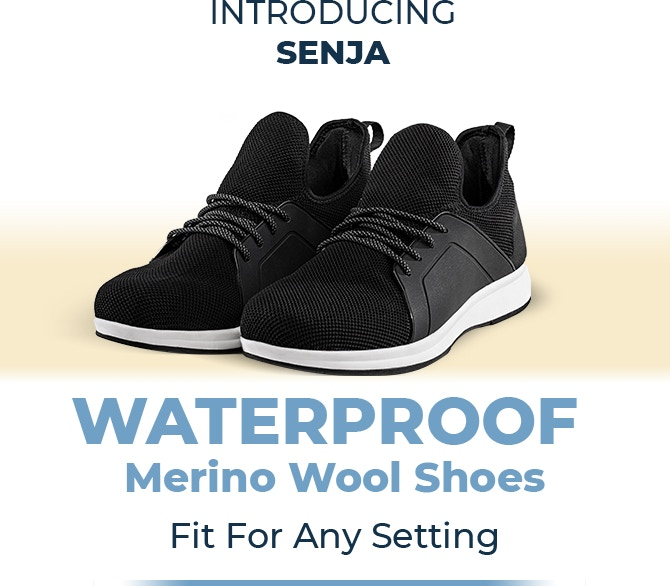 Senja | All-Terrain, Everyday 100% Waterproof Shoe