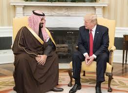 Saudi अरब और डोनाल्ड ट्रंप मुलाकात