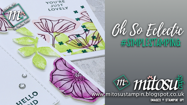 Oh So Eclectic #simplestamping & floating frame Technique, shop online 24/7 with Mitosu Crafts