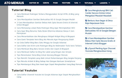 Tips Awal Membangun Blog di Blogspot yang Baik dan Benar Hingga Jangka Panjang