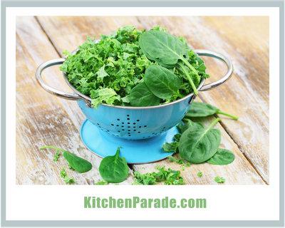Spinach Recipes ♥ KitchenParade.com, super-organized to find exactly the right recipe, fast.