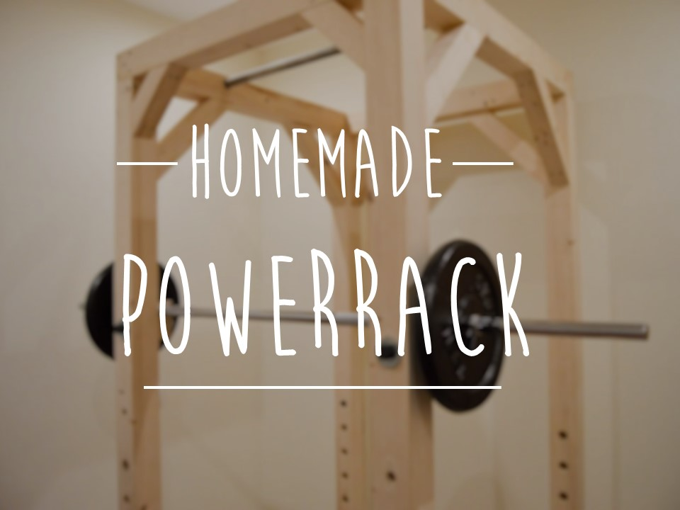 My Homemade Power Rack Diy Carlos