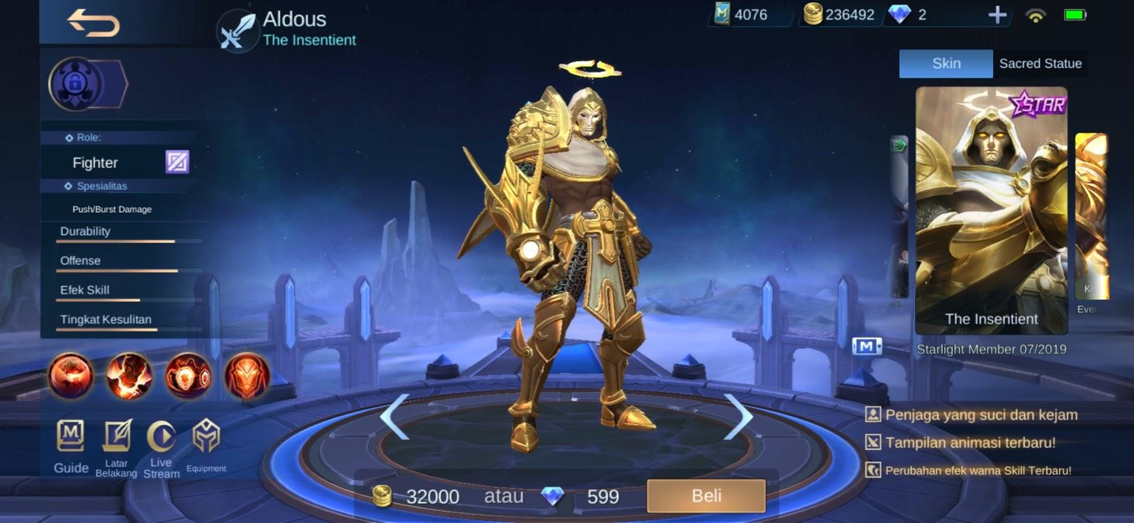 √5 Hero Fighter Terkuat Dan Tersakit Di Late Game Mobile