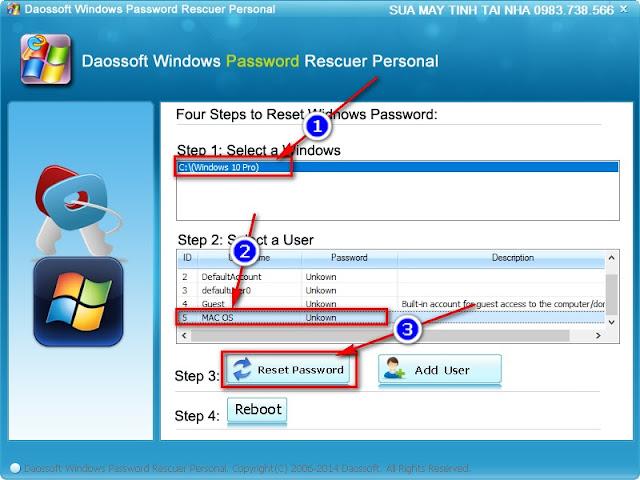Hướng dẫn phá mật khẩu đăng nhập Windows 10