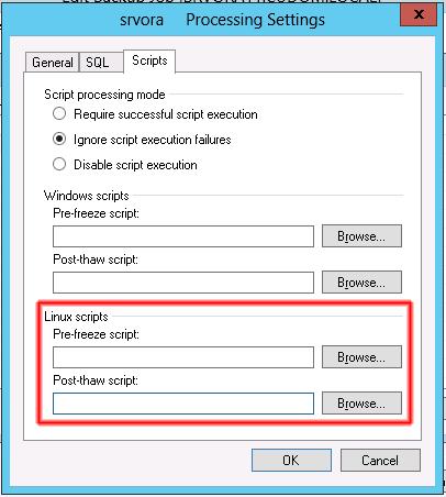 Windows o Linux Scripts.