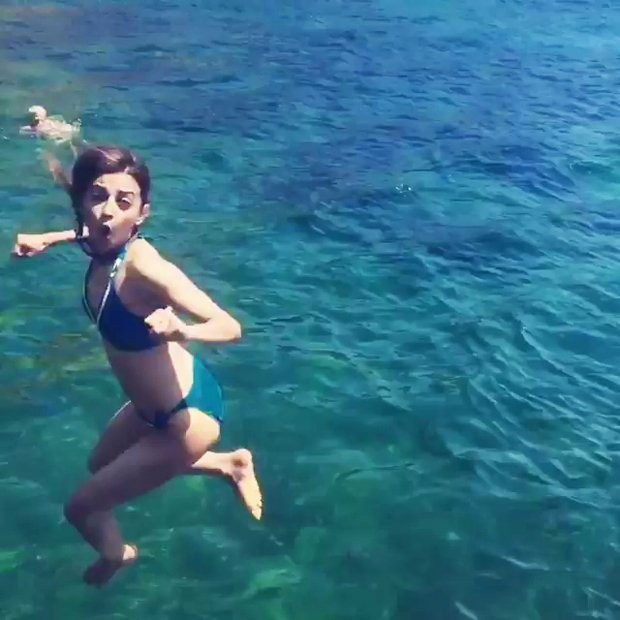 Actress Radhika Apte Raises The Temperature In Her Blue Bikini