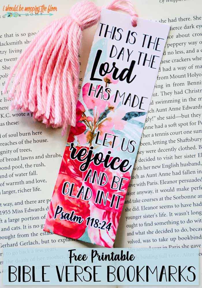 Free Printable Bible Verse Bookmarks