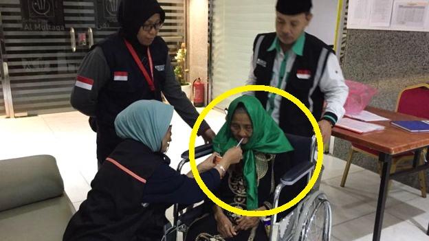 Selalu Dikejar Wartawan, Jamaah Haji Tertua Sedunia Yang Asli Indonesia Ini Jadi Stress Dan Linglung