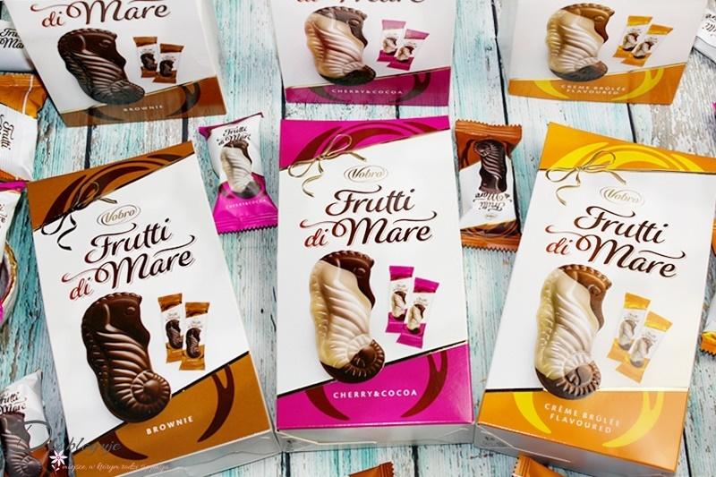 Nowa odsłona kultowych pralin Frutti di Mare od Vobro - recenzja