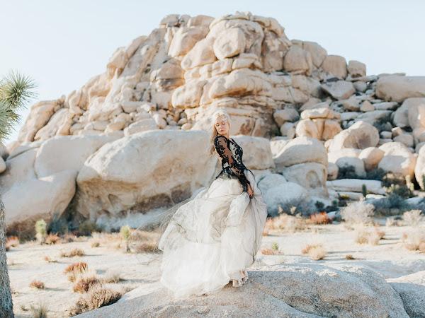 ➳ DESERT REIGN | STYLED BRIDAL INSPIRATION {JOSHUA TREE NATIONAL PARK}