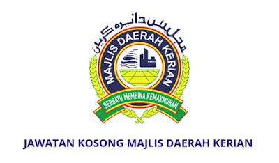 Jawatan Kosong Majlis Daerah Kerian 2019
