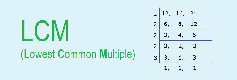 LCM (Lowest Common Multiple)