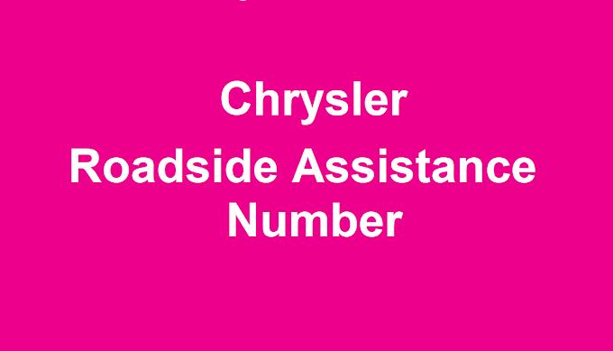 Chrysler Roadside Assistance Number