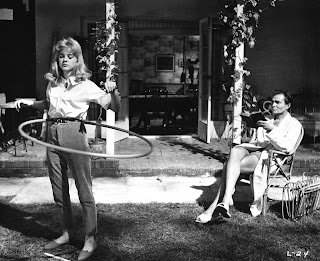Lolita, directed by Stanley Kubrick (GB/United States; 1960-62).  Lolita (Sue Lyon) and Prof. Humbert Humbert (James Mason). © Warner Bros. Entertainment Inc.