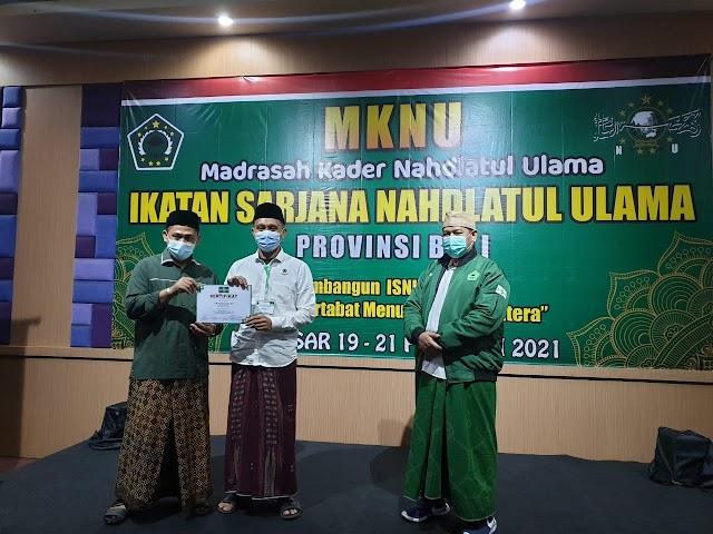 Wakil Ketua Komisi IV DPRD Buleleng Mengikuti MKNU (Madrasah Kader Nahdlatul Ulama)