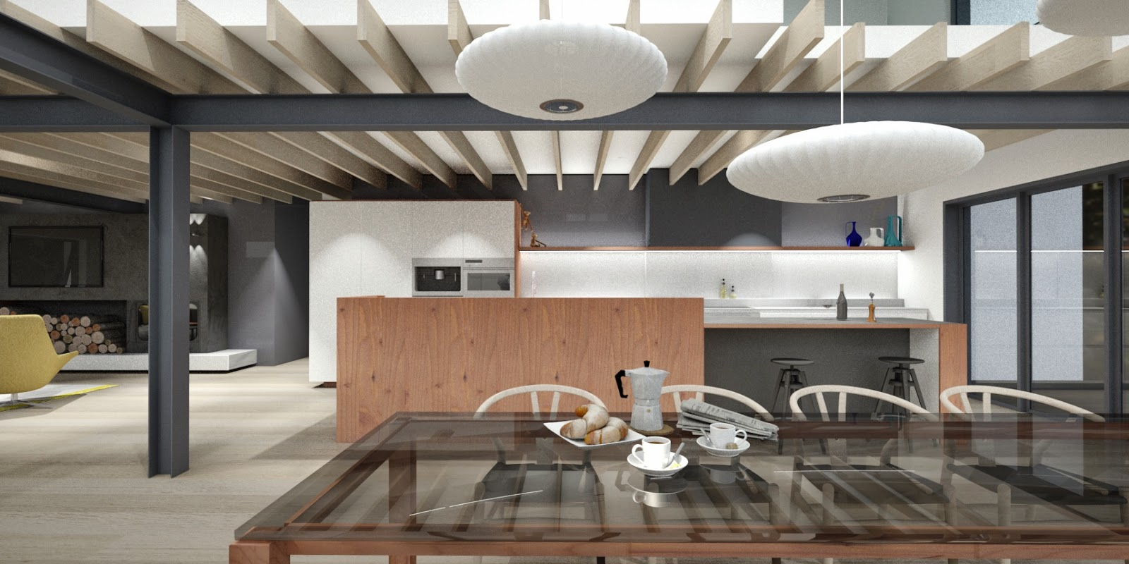 urban design kitchens. A Very Buys Professional Couple With Two You Kids Meant There Was A Real  Need Tot Connect The Family At Every Opportunity This Is Now Achieved Thru Sheer Minosa Urban Design In Woodland Setting