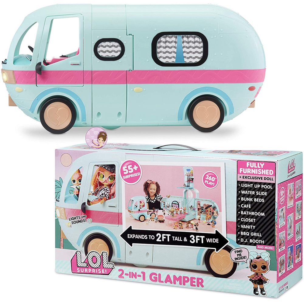 L.O.L. Surprise Glamper playset