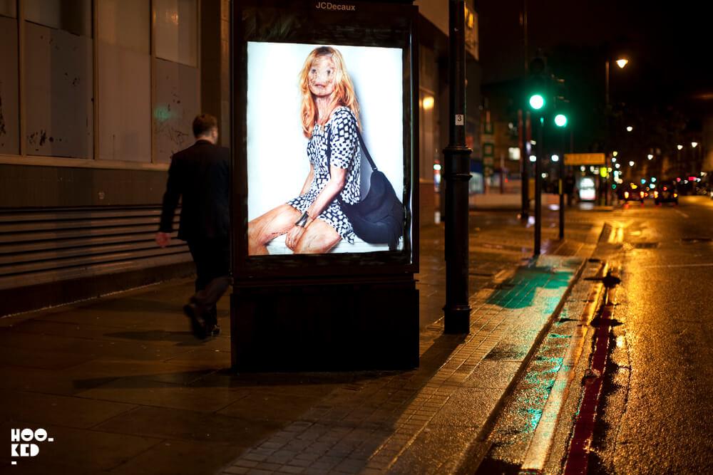 London Street Art - Adbusting with artist Vermibus