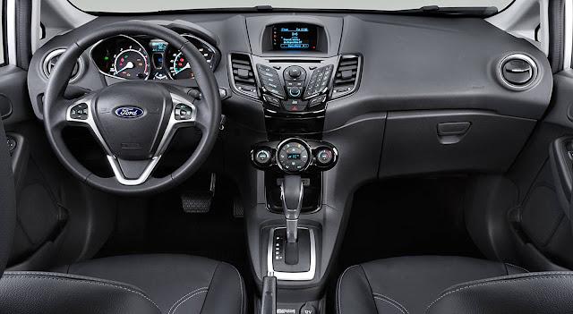 New Fiesta 2017 Turbo EcoBoost - interior - painel
