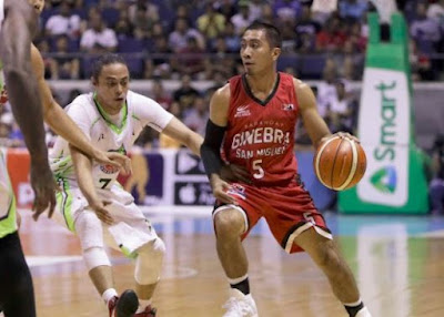 Vintage LA Tenorio Showed Up and Lift Ginebra pass Global Port plunge